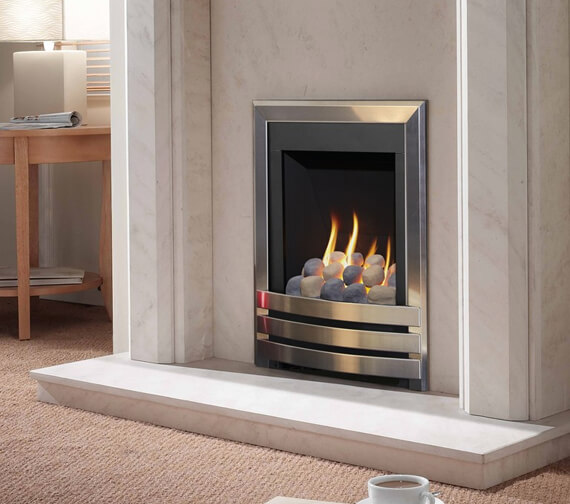 Flavel Windsor Manual Control Contemporary Gas Fire