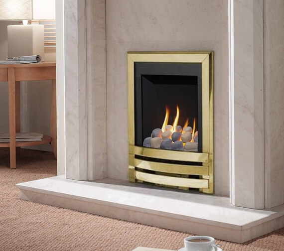Additional image of Flavel Windsor Manual Control Contemporary Gas Fire