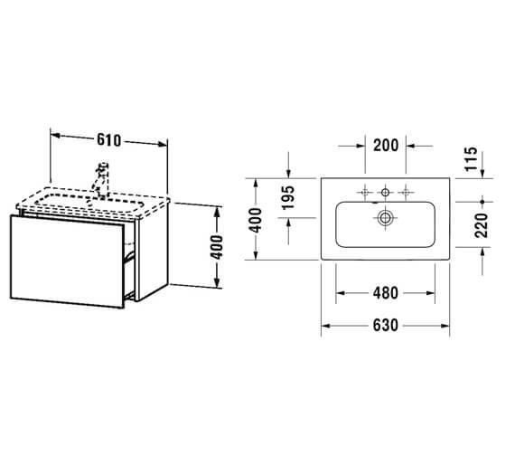 Technical drawing QS-V99611 / XS406501818