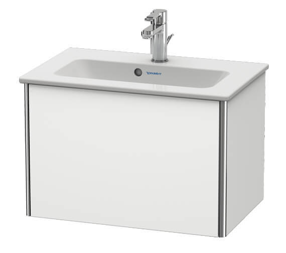 Duravit XSquare Wall Mounted 1 Drawer Vanity Unit For ME By Starck Basin
