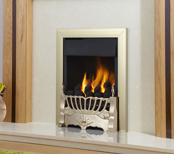 Additional image of Flavel Kenilworth Plus Full Depth High Efficiency Gas Fire With Balmoral Fret