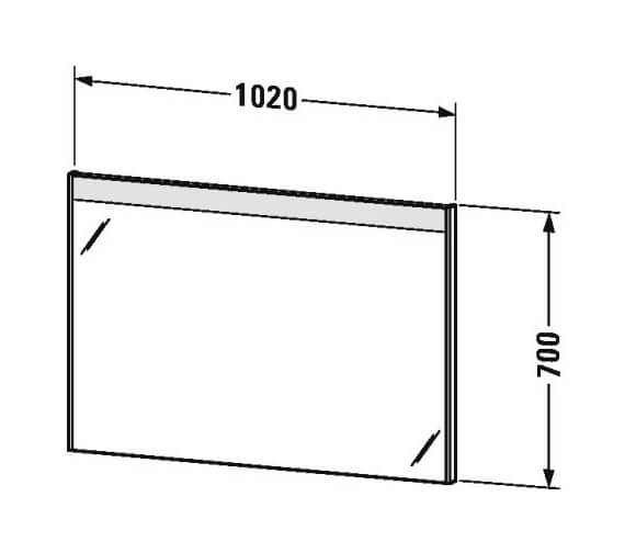 Technical drawing QS-V95847 / BR700101818