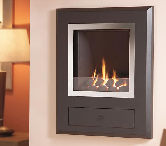 Flavel Finesse Versatile Hole-In-The-Wall Inset Gas Fire