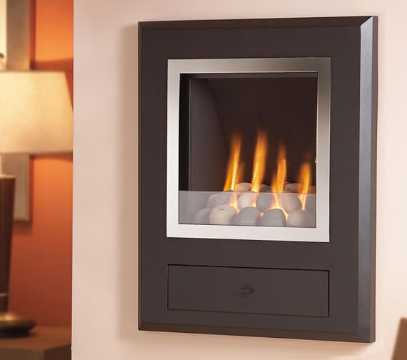 Additional image of Flavel Finesse Versatile Hole-In-The-Wall Inset Gas Fire
