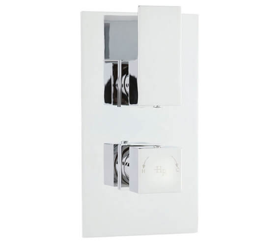 Hudson Reed Art Twin Concealed Thermostatic Shower Valve