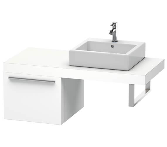 Duravit Fogo 500 x 550mm White Matt Cabinet For Consoles