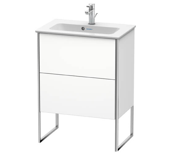 Duravit Xsquare Floor Standing 2 Drawer Vanity Unit For ME By Starck Basin