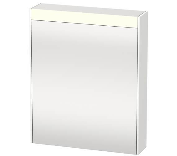 Duravit Brioso 620 x 760mm Single Door Mirror Cabinet
