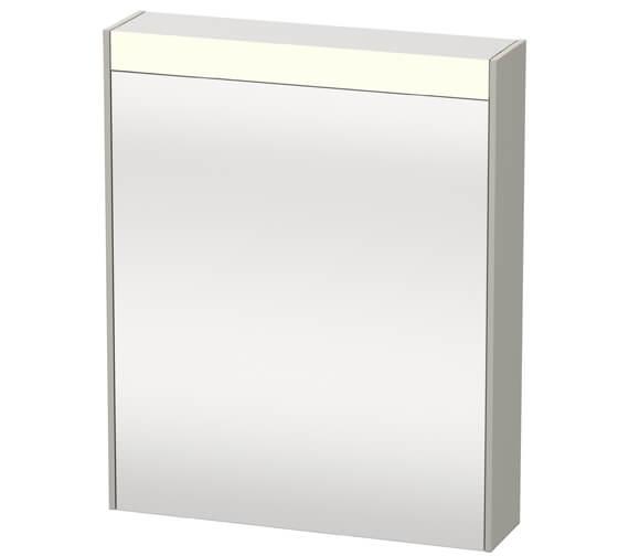 Additional image of Duravit Brioso 620 x 760mm Single Door Mirror Cabinet