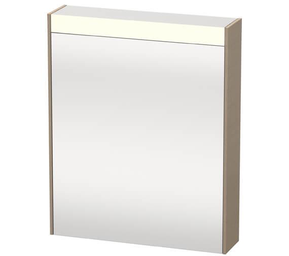 Alternate image of Duravit Brioso 620 x 760mm Single Door Mirror Cabinet
