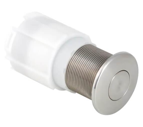 Geberit Hytouch Pneumatic Gloss Chrome Single Flush Finger Push Button