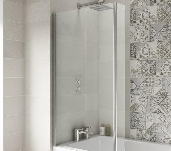 Alternate image of Premier Square Left Hand Shower 1500mm Bath Set
