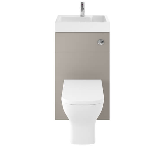 Additional image of Premier Athena 500mm Floor Standing WC Unit And Basin