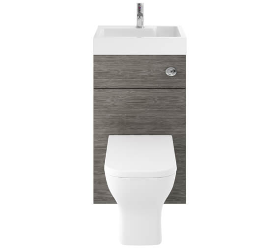 Alternate image of Nuie Premier Athena 500mm Floor Standing WC Unit And Basin