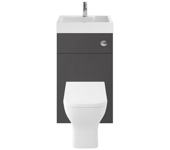 Alternate image of Premier Athena 500mm Floor Standing WC Unit And Basin