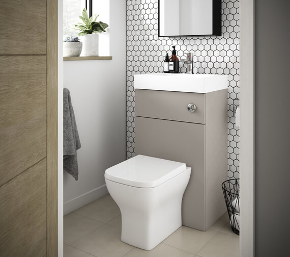 Nuie Premier Athena 500mm Floor Standing WC Unit And Basin