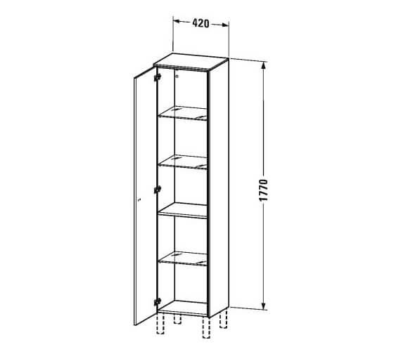 Technical drawing QS-V95852 / BR1320L1818