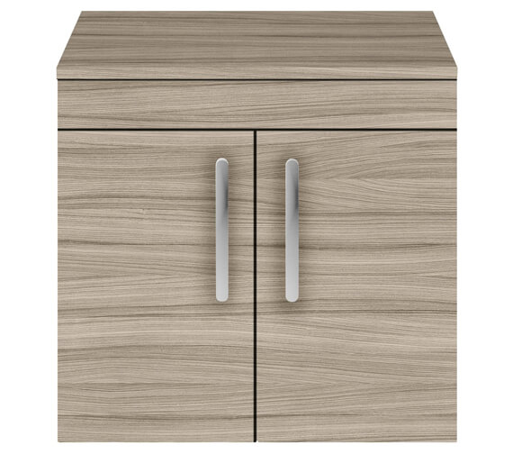 Additional image of Nuie Premier Athena 600mm Wall Hung 2 Door Cabinet With Worktop