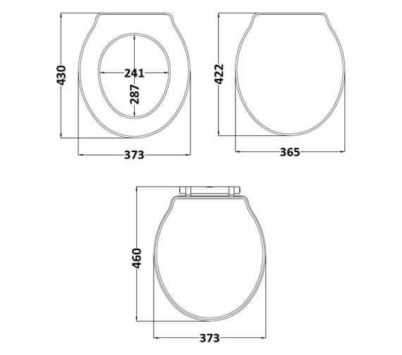 Technical drawing QS-V90894 / LOS398