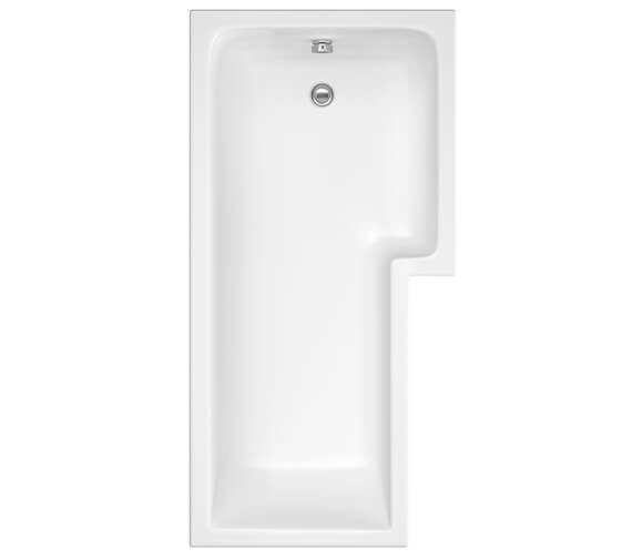 Additional image of Premier Square Left Hand 1500mm Shower Bath