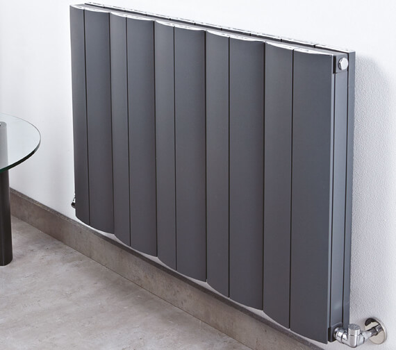 Alternate image of Phoenix Space 400mm High Pre Filled Electric Radiator - White