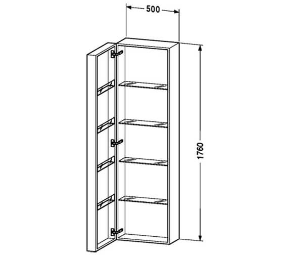 Technical drawing QS-V53187 / FO9546L1818