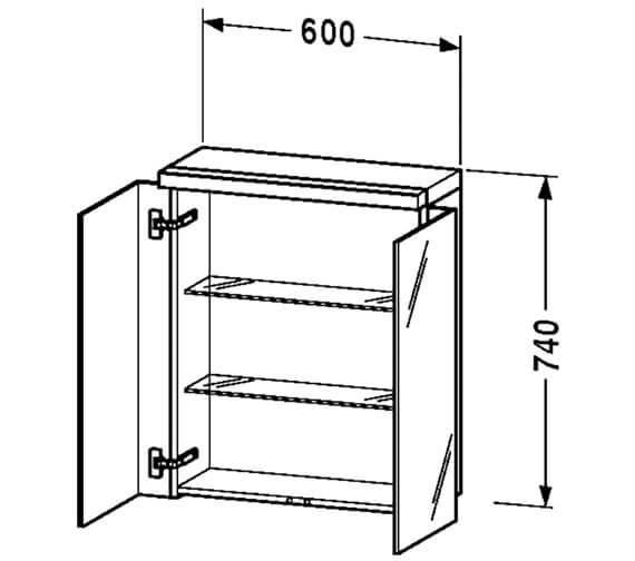 Technical drawing QS-V48527 / FO967201818