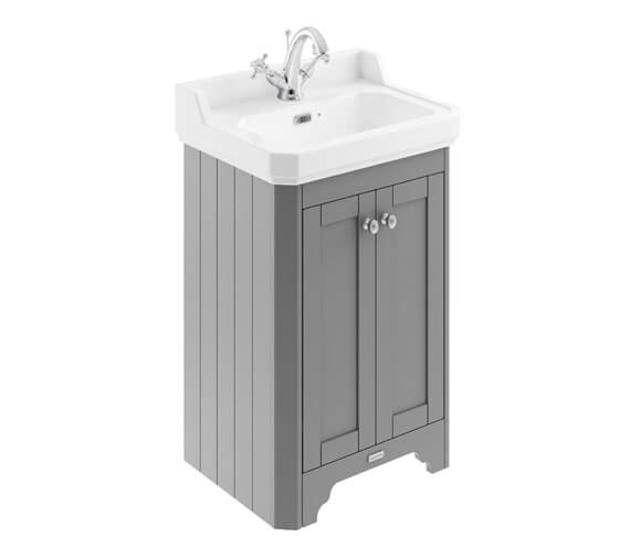 Additional image of Old London 2 Door Floor Standing Vanity Unit With Basin