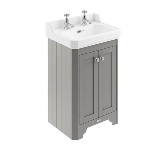 Alternate image of Old London 2 Door Floor Standing Vanity Unit With Basin