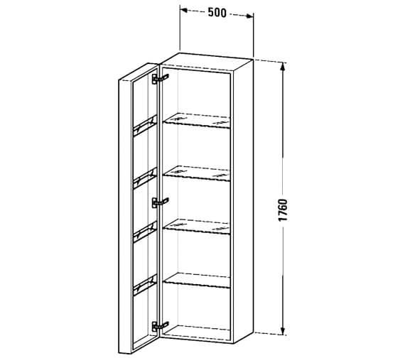 Technical drawing QS-V53188 / FO9547L1818