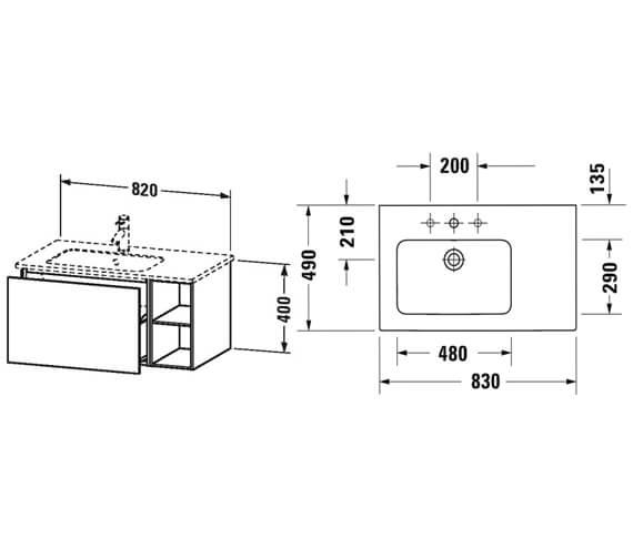 Technical drawing QS-V95681 / LC619101818