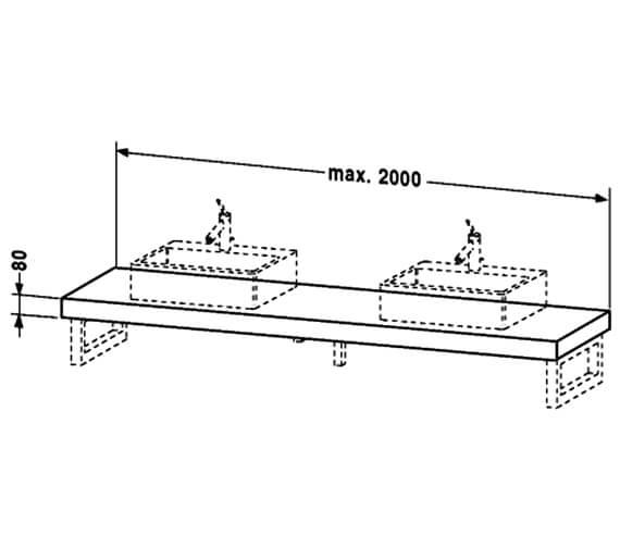 Technical drawing QS-V90578 / FO079C02222