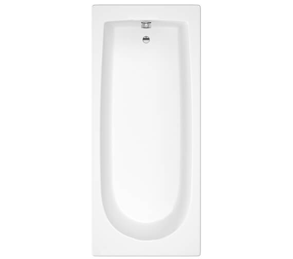 Additional image of Hudson Reed Classic Round 1700mm Single Ended Bath With Eternalite