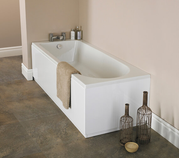 Hudson Reed Classic Round 1700mm Single Ended Bath With Eternalite