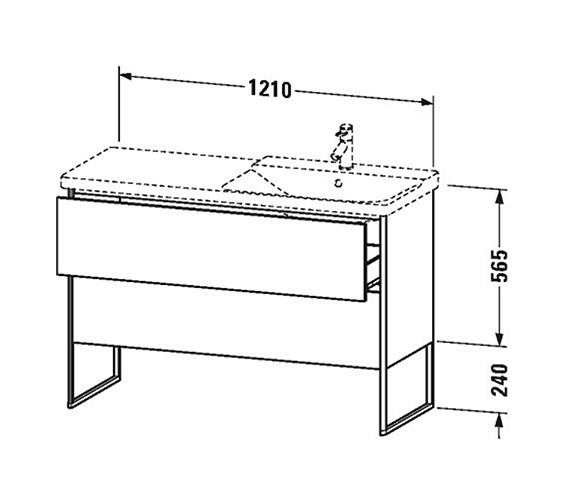 Technical drawing QS-V99048 / XS446701818