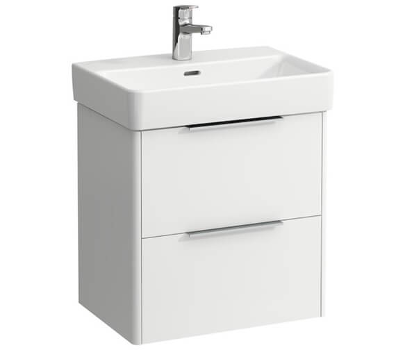 Laufen 520mm White Matt Base Furniture For Pro S Basin
