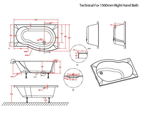 Additional image for QS-V42519 Nuie Bathroom - SBATH20