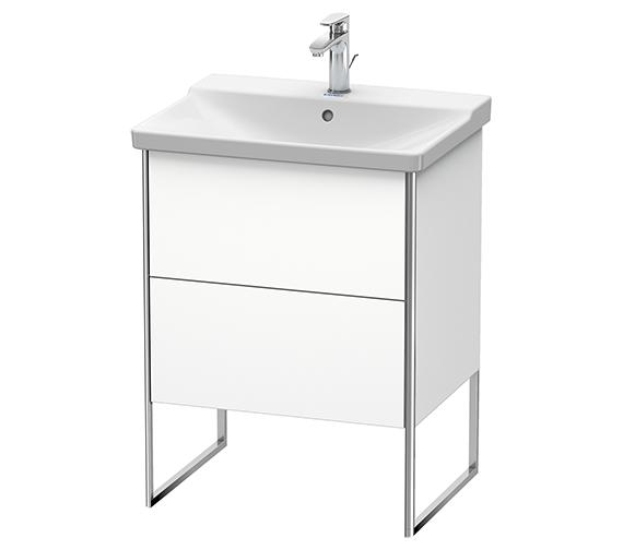 Duravit XSquare Floor-Standing 2 Drawer Vanity Unit 610 x 473 x 805mm