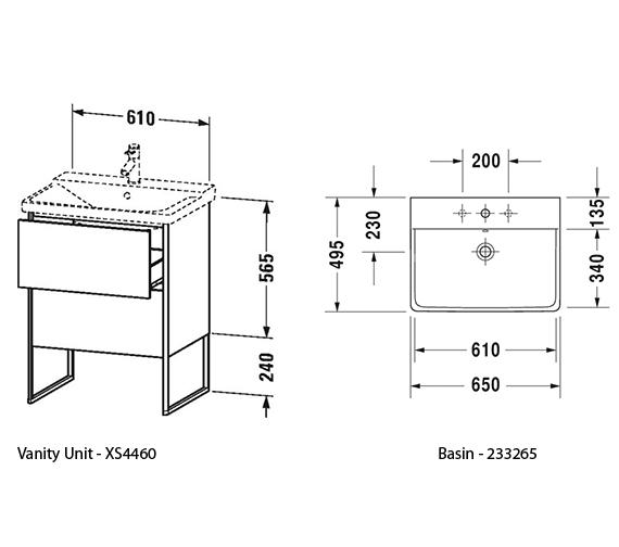 Technical drawing QS-V99044 / XS446001818