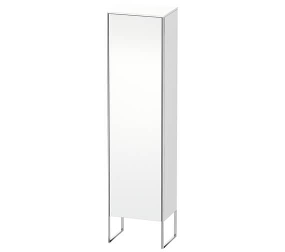 Duravit XSquare 500 x 356 Left Hand Hinged 1-Door Semi Tall Cabinet