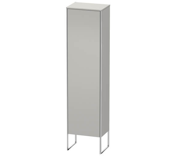 Additional image of Duravit XSquare 500 x 356 Left Hand Hinged 1-Door Semi Tall Cabinet