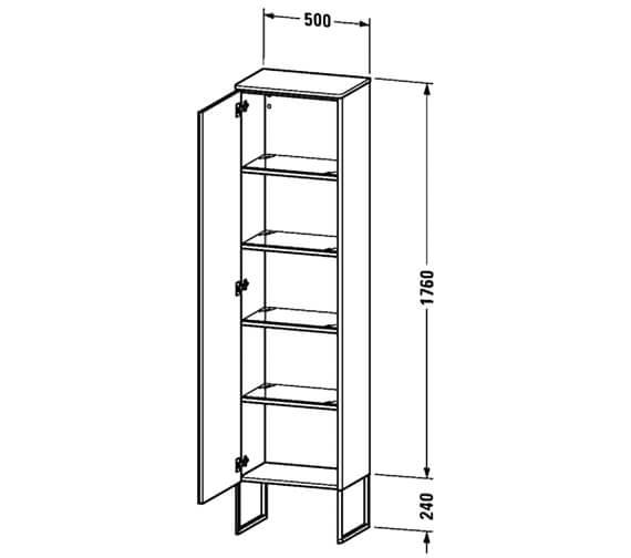 Technical drawing QS-V100007 / XS1314L1818