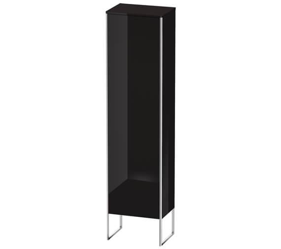 Alternate image of Duravit XSquare 500 x 356 Left Hand Hinged 1-Door Semi Tall Cabinet