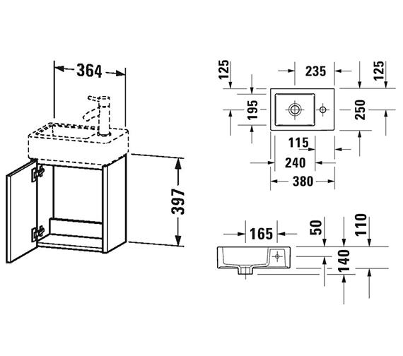 Technical drawing QS-V99049 / XS4099L1818
