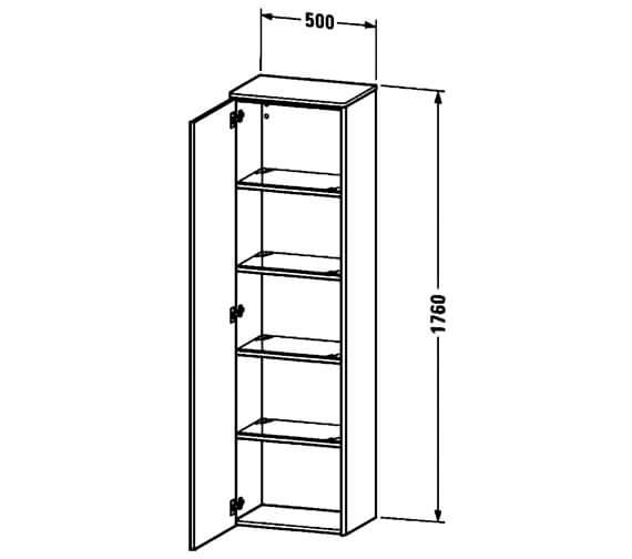 Technical drawing QS-V100008 / XS1313L1818