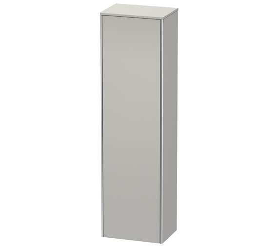 Additional image of Duravit XSquare 500 x 356 Left Hand Hinged 1-Door Tall Cabinet