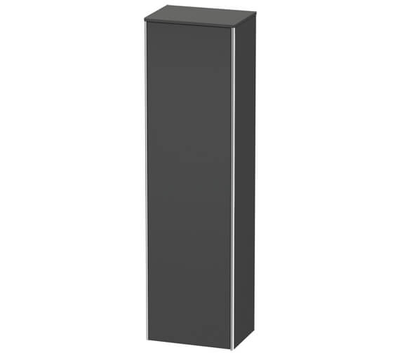 Alternate image of Duravit XSquare 500 x 356 Left Hand Hinged 1-Door Tall Cabinet
