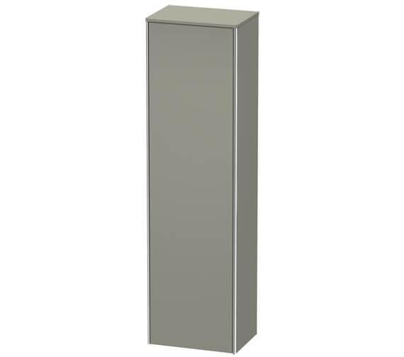 Alternate image of Duravit XSquare 500 x 356 Left Hand Hinged 1-Door Tall Cabinet
