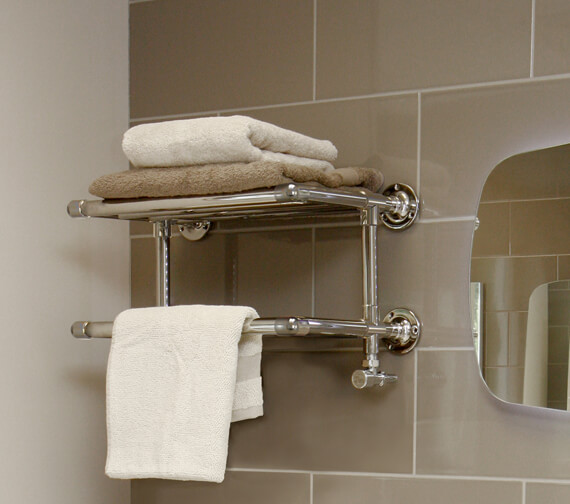 Vogue Binary 500 x 275mm Mildsteel Towel Rack