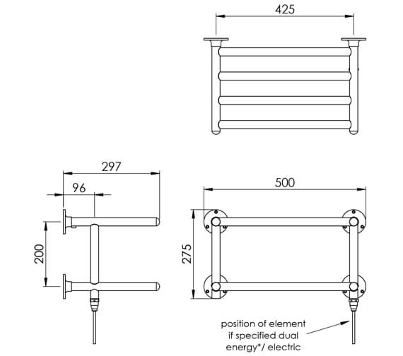 Technical drawing QS-V88572 / TR002 MS0274500CP